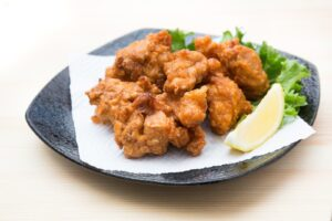 deep‐fried chicken